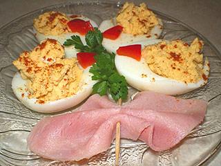 Bukiet z jajek