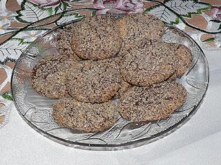 Ciasteczka czekoladowe z wiórkami kokosowymi