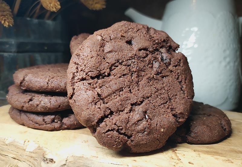 Ciastka mocno czekoladowe