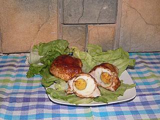 Filety nadziewane jajkiem