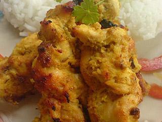 Filety z kurczaka w jogurcie z curry
