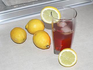 Herbaciany long drink