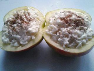 Jabłka nadziewane ryżem