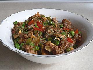 Mięso mielone z warzywami