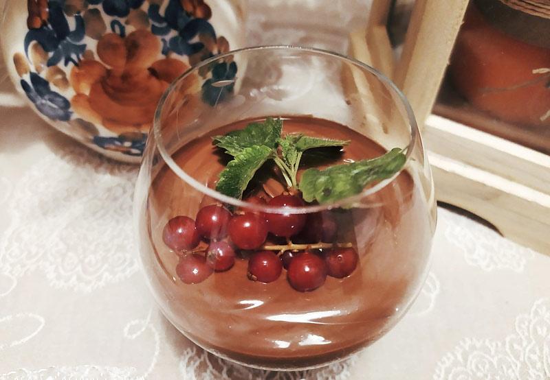 Mus czekoladowy na mleczku kokosowym