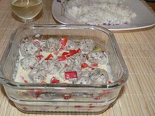 Pulpety w sosie śmietanowym