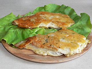 Ryba w panierce serowej