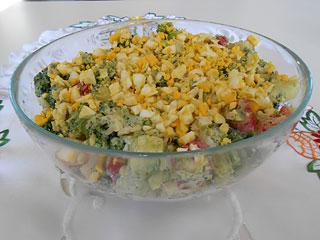 Sałatka z brokuł