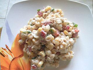 Sałatka z tuńczyka i kukurydzy
