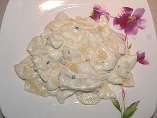 Smaczna sałatka z ziemniaków