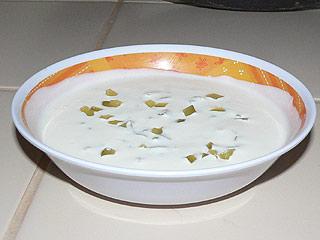 Sos jogurtowo-czosnkowy