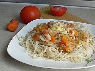 Wiejskie spaghetti