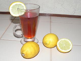 Wino z herbatą