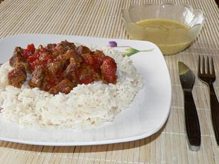 Wołowina po indyjsku