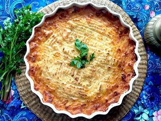 Zapiekanka pasterska (Shepherds pie)