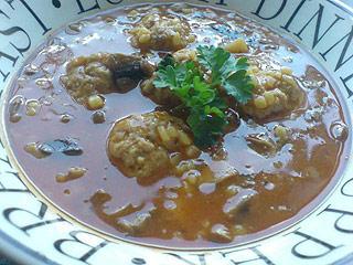 Zupa Beaty z mięsem mielonym