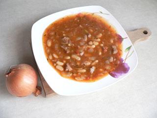 Zupa gulaszowa z fasolą