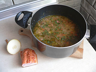 Zupa ziemniaczana z bekonem